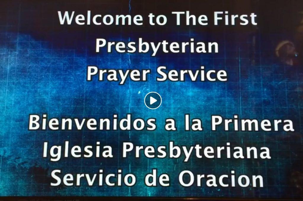 First Saturday Bilingual Prayer Service 04042020