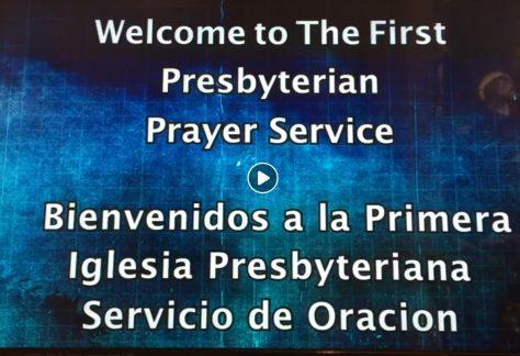 First Sat. Bilingual Prayer Service