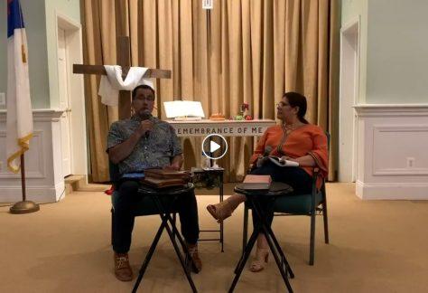 Wednesday Night Bible Study 05/27/2020